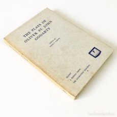 Libros de segunda mano: LIBRO THE PLAYS OF OLIVER ST. JOHN GOGARTY - PROSCENIUM PRESS. Lote 192690782