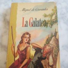 Libros de segunda mano: MIGUEL DE CERVANTES SAAVEDRA LA GALATEA 1960 GRÁFICAS Y EDITORIAL RAMÓN SOPENA. Lote 192713228