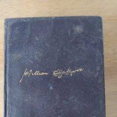 Libros de segunda mano: WILLIAM SHAKESPEARE: OBRAS COMPLETAS (1 VOL, LUIS ASTRANA MARÍN). Lote 192713617