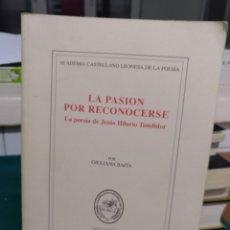 Libros de segunda mano: GIOVANA BAITIA, LA PASIÓN POR RECONOCERSE 2002. Lote 192752160