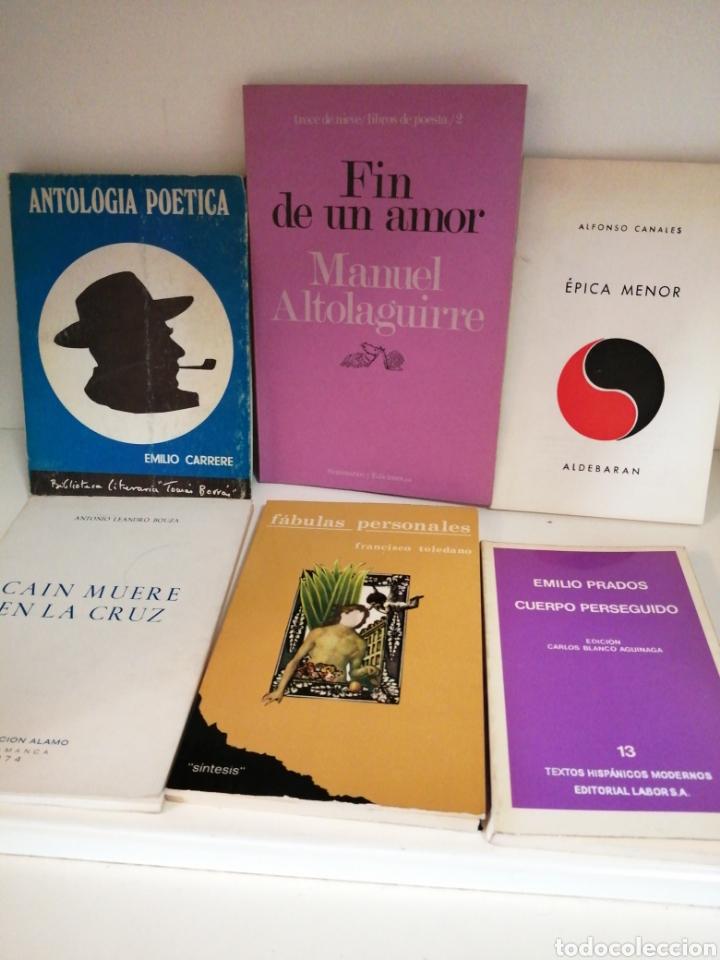 VARIOS. EMILIO CARRERE,M.ALTOLAGUIRRE, A.CANALES, A. LEANDRO BOUZA, F.TOLEDAN (Libros de Segunda Mano (posteriores a 1936) - Literatura - Poesía)