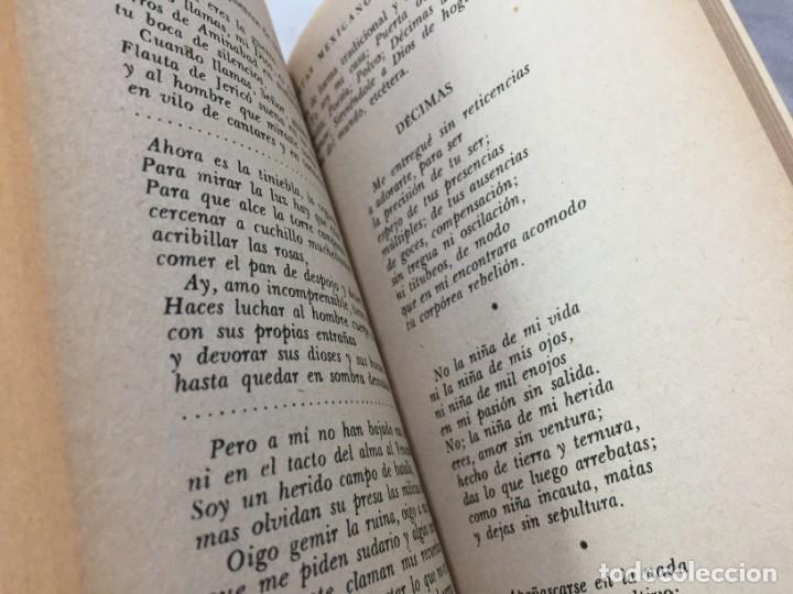 Libros de segunda mano: Poetas mexicanos. Félix BLANCO, Recopilación 1ª edición 1967 Editorial Diana México - Foto 9 - 193786958