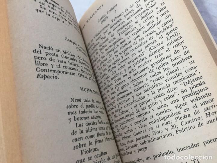 Libros de segunda mano: Poetas mexicanos. Félix BLANCO, Recopilación 1ª edición 1967 Editorial Diana México - Foto 10 - 193786958