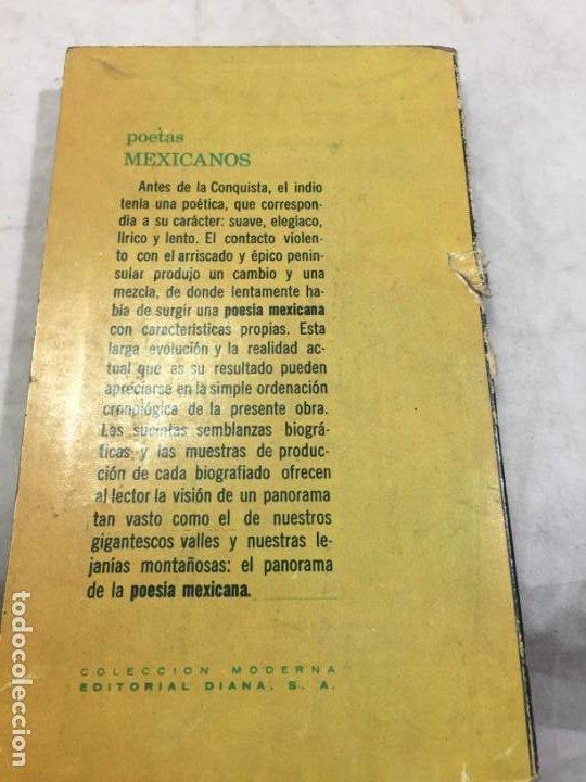 Libros de segunda mano: Poetas mexicanos. Félix BLANCO, Recopilación 1ª edición 1967 Editorial Diana México - Foto 12 - 193786958