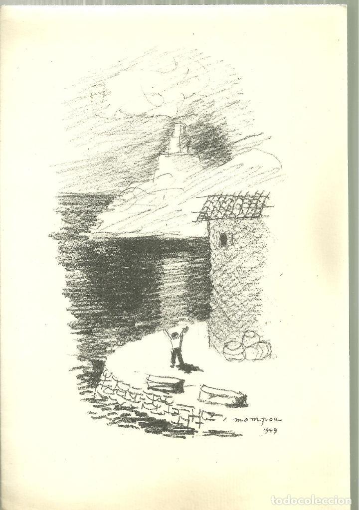 3921.- J.V.FOIX-NADAL DEL 1949 - TOT ÉS ACÍ:LES DIÜRNES ESPASES - DIBUIX LITOGRAFIC DE MOMPOU (Libros de Segunda Mano (posteriores a 1936) - Literatura - Poesía)