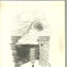 Libros de segunda mano: 3921.- J.V.FOIX-NADAL DEL 1949 - TOT ÉS ACÍ:LES DIÜRNES ESPASES - DIBUIX LITOGRAFIC DE MOMPOU. Lote 193828438