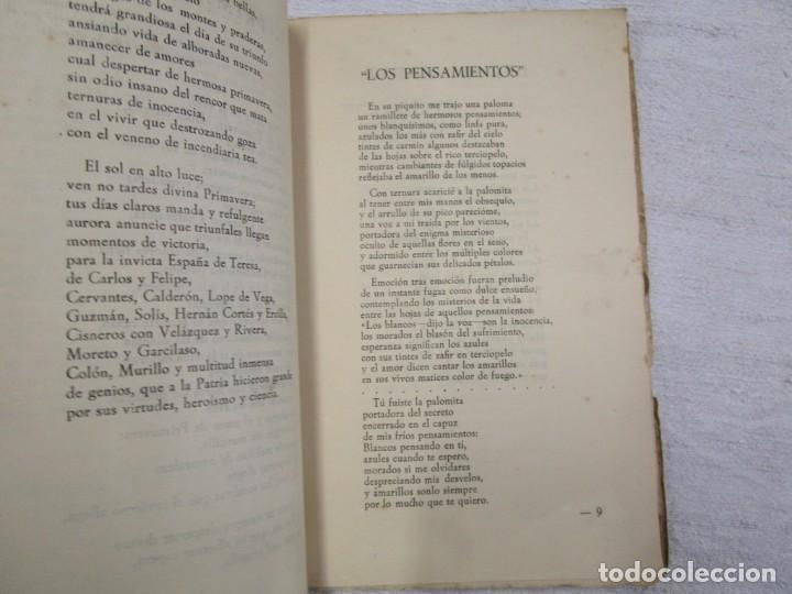 Libros de segunda mano: GALICIA POESIA - SIN LUZ POESIAS - HIPOLITO DE SA BRAVO - PONTEVEDRA 1943 INTONSO + INFO - Foto 3 - 193948388