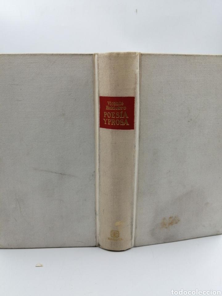 Libros de segunda mano: Poesía y prosa. Vicente Huidobro. Aguilar - Foto 2 - 206967700