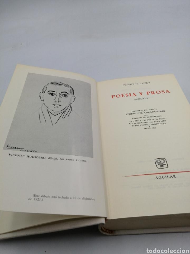 POESÍA Y PROSA. VICENTE HUIDOBRO. AGUILAR (Libros de Segunda Mano (posteriores a 1936) - Literatura - Poesía)