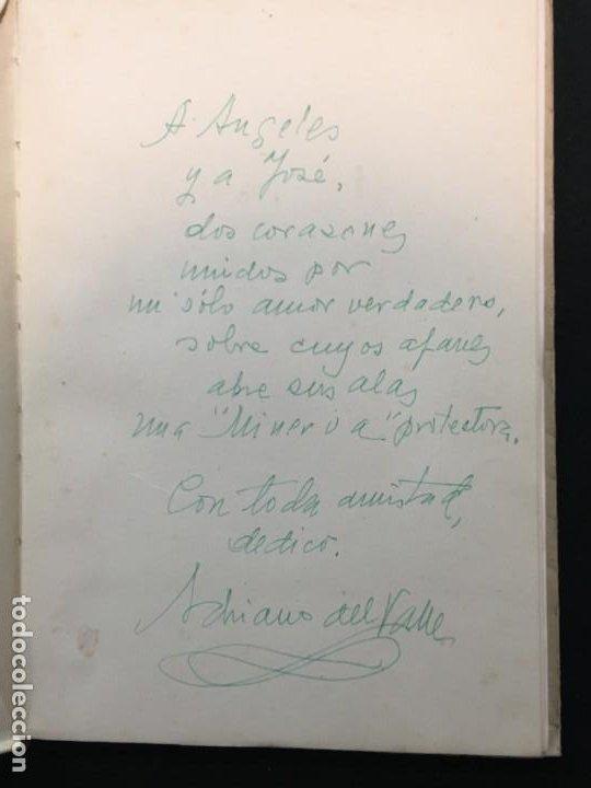 Libros de segunda mano: Adriano del Valle. Arpa Fiel. Excepcional Doble Dedicatoria Autógrafa. Madrid, 1942. - Foto 2 - 194065538