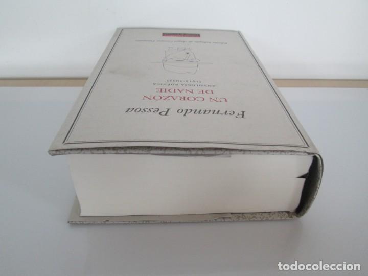 Libros de segunda mano: FERNANDO PESSOA. UN CORAZON DE NADIE.ANTOLOGIA POETICA .CIRCULO DE LECTORES. 2001 - Foto 5 - 194221116