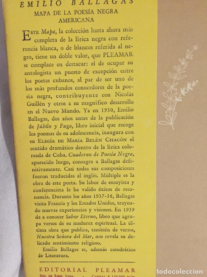 Libros de segunda mano: MAPA DE LA POESIA NEGRA AMERICANA. EMILIO BALLAGAS. - Foto 2 - 194234005