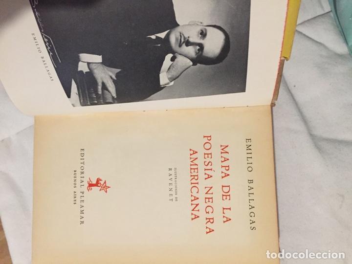 Libros de segunda mano: MAPA DE LA POESIA NEGRA AMERICANA. EMILIO BALLAGAS. - Foto 4 - 194234005
