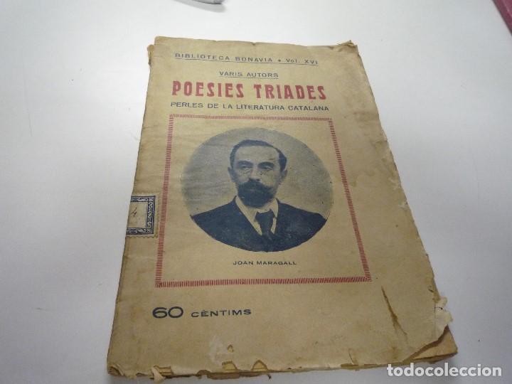 POESIES TRIADES (Libros de Segunda Mano (posteriores a 1936) - Literatura - Poesía)