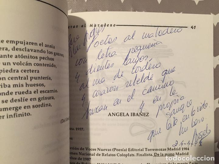 Libros de segunda mano: POETAS AL MATADERO, Revista de Letras y letristas - Foto 3 - 194351987