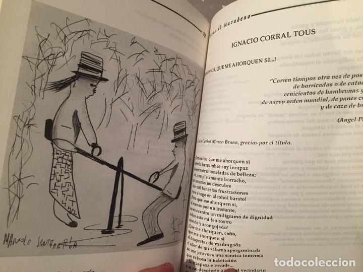 Libros de segunda mano: POETAS AL MATADERO, Revista de Letras y letristas - Foto 4 - 194351987