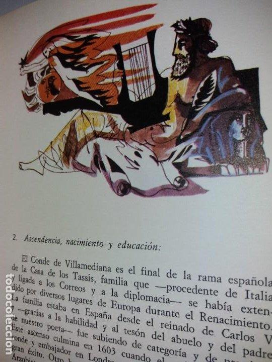 Libros de segunda mano: EXCEPCIONAL CONDE DE VILLAMEDIANA BIBLIOFILOS ILUSTRADO POR MUNOA - Foto 38 - 194356985