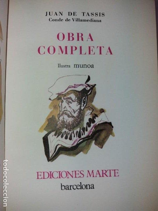 Libros de segunda mano: EXCEPCIONAL CONDE DE VILLAMEDIANA BIBLIOFILOS ILUSTRADO POR MUNOA - Foto 39 - 194356985