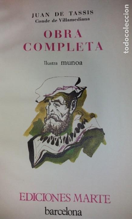 Libros de segunda mano: EXCEPCIONAL CONDE DE VILLAMEDIANA BIBLIOFILOS ILUSTRADO POR MUNOA - Foto 41 - 194356985