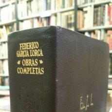 Libros de segunda mano: OBRAS COMPLETAS. - GARCÍA LORCA, FEDERICO.. Lote 194723580