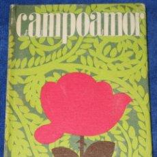 Libros de segunda mano: CAMPOAMOR - EDICIONES RODEGAR (1968). Lote 194738560