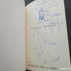 Libros de segunda mano: EL CANARIO. JOSÉ RAÚL DÍAZ VIERA. DEDICADO. POESÍA 1980.. Lote 194942986