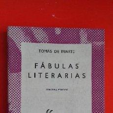 Libros de segunda mano: FÁBULAS LITERARIAS. TOMÁS DE IRIARTE. COLECCIÓN AUSTRAL Nº1247 3ªED. 1965 ESPASA CALPE. Lote 194975251