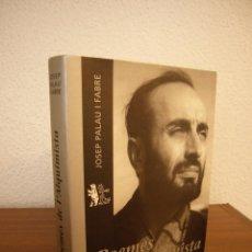 Libros de segunda mano: JOSEP PALAU I FABRE: POEMES DE L'ALQUIMISTA. EDICIÓ DEFINITIVA (PROA, 2001) PERFECTE ESTAT. Lote 195033967
