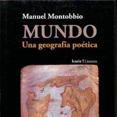 Libros de segunda mano: MUNDO. Lote 195044838