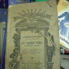 Libros de segunda mano: LOS PEQUEÑOS POEMAS (TERCERA SERIE), RAMÓN DE CAMPOAMOR. L.17025-167. Lote 195184136
