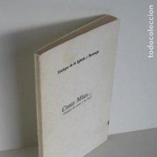 Libros de segunda mano: ENRIQUE DE LA IGLESIA Y BERMEJO. COSAS MÍAS...VERSOS DE AYER Y DE HOY. MADRID 1978. FOTOS ADJUNTAS.. Lote 195186506