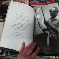 Libros de segunda mano: OBRIU-ME DINS EL MAR... BLAI BONET . FOTOGRAFIA ÓSCAR PIPKIN . 1ª EDICIÓ 2007 . SANTANYÍ . MALLORCA . Lote 195237216