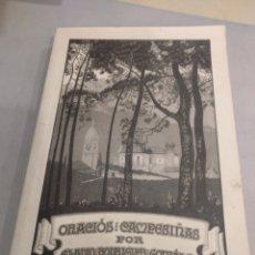 Libros de segunda mano: ORACIÓNS CAMPESIÑAS POR ELADIO RODRÍGUEZ GONZÁLEZ. Lote 195321845