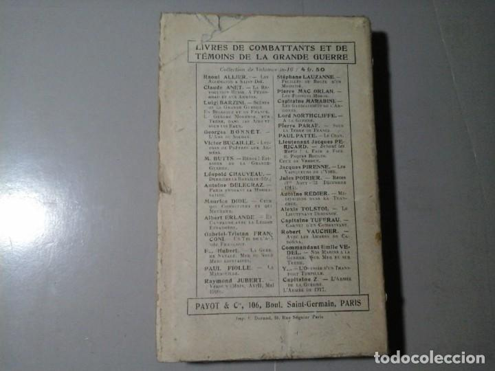 Libros de segunda mano: ALAN SEEGER. LE POÉTE DE LA LÉGION ÉTRANGERE. 1ª EDICIÓN FRANCESA 1918.POESÍA.GRAN GUERRA. MUY RARO. - Foto 2 - 195439526