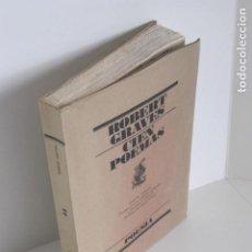 Libros de segunda mano: ROBERT GRAVES. CIEN POEMAS. BILINGÜE. TRAD. CLARIBEL ALEGRÍA, DARWIN J. FLAKOLL. PROL. PAUL O´PREY. . Lote 195489966