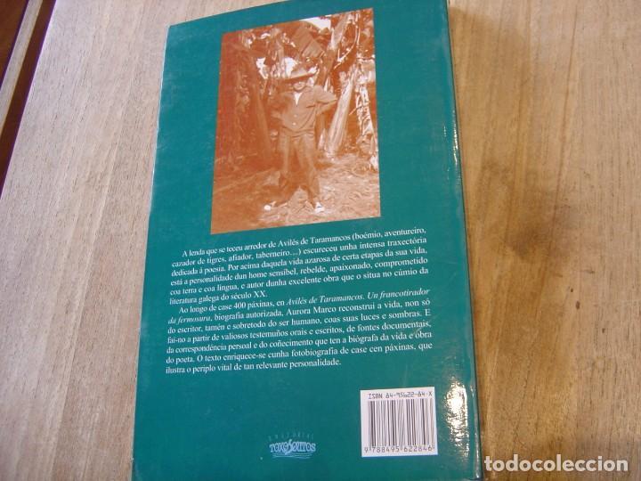 Libros de segunda mano: AVILÉS DE TARAMANCOS. Un francotirador da fermosura. AURORA MARCO. Toxosoutos SL 1º edición. 2003 - Foto 11 - 197783567