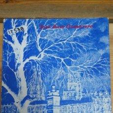 Libri di seconda mano: 12538 - POEMAS DE ESTANCIA Y CELDA - POR JOSE LUIS CAMARERO - AÑO 1982 . Lote 198674701
