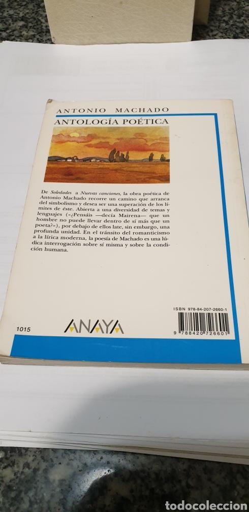 Libros de segunda mano: Antonio Machado Antología poética - Foto 2 - 199031917