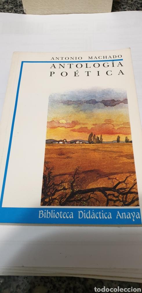 ANTONIO MACHADO ANTOLOGÍA POÉTICA (Libros de Segunda Mano (posteriores a 1936) - Literatura - Poesía)