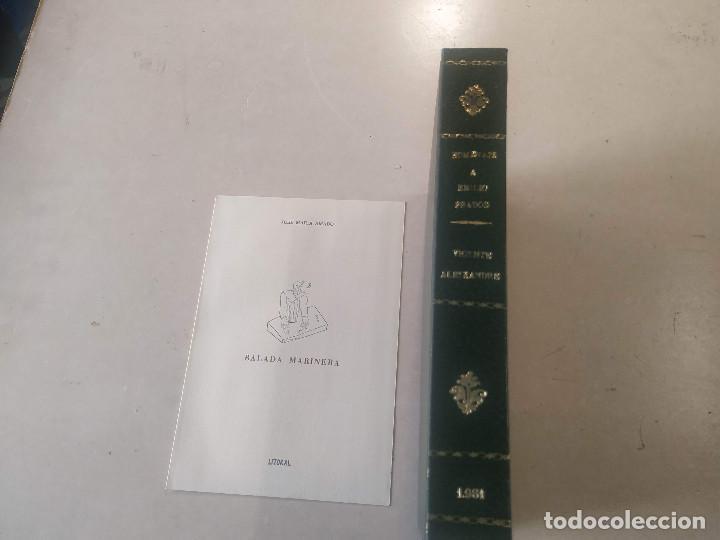 LITORAL-REV. DE LA POESÍA Y EL PENSAMIENTO Nº100/101/102-103/104/105+BALADA MARINERA DE AMADO(DEDIC (Libros de Segunda Mano (posteriores a 1936) - Literatura - Poesía)