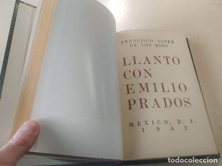 Libros de segunda mano: LITORAL-REV. DE LA POESÍA Y EL PENSAMIENTO Nº100/101/102-103/104/105+BALADA MARINERA DE AMADO(DEDIC - Foto 5 - 199631473