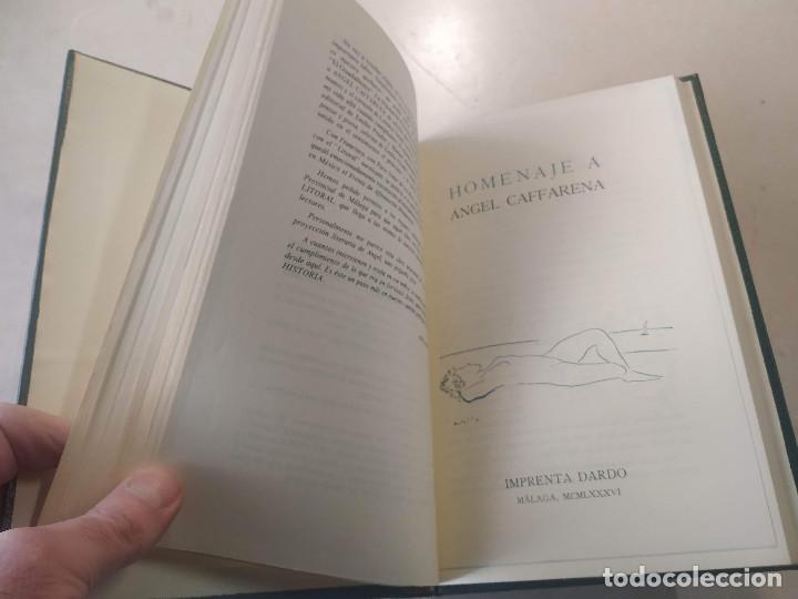 Libros de segunda mano: LITORAL - REVISTA DE LA POESÍA Y EL PENSAMIENTO Nº 163/164/165 (GIL DE BIEDMA) Y 171 (CAFFARENA) - Foto 3 - 199631745