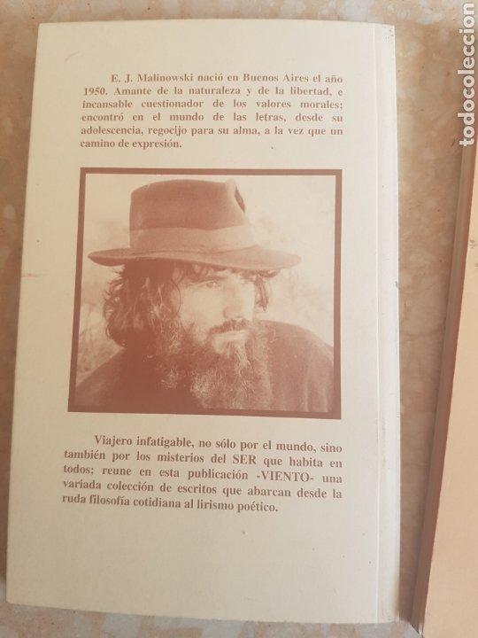 Libros de segunda mano: Lote de 2. E J. Malinowski Viento de rocas y miel sin cadenas y Viento 2 - Foto 2 - 200035437