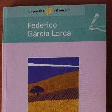 Libros de segunda mano: ANTOLOGÍA POÉTICA – FEDERICO GARCÍA LORCA – BIBLIOTECA EL MUNDO. Lote 200158927