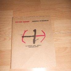 Libros de segunda mano: ANTONI MUNNE - FRUITA D'ARGILA - LLIBRES DEL MALL. Lote 201324740