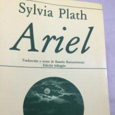 Libros de segunda mano: ARIEL. EDICIÓN BILINGÜE, SYLVIA PLATH. POESÍA HIPERIÓN. 1985. Lote 202803480