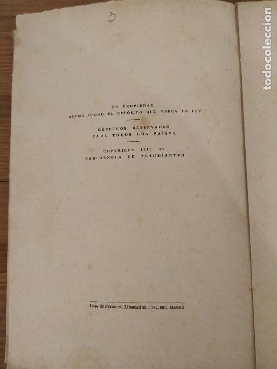 Libros de segunda mano: ANTONIO MACHADO POESÍAS COMPLETAS RESIDENCIA DE ESTUDIANTES MADRID 1917. - Foto 3 - 203552897
