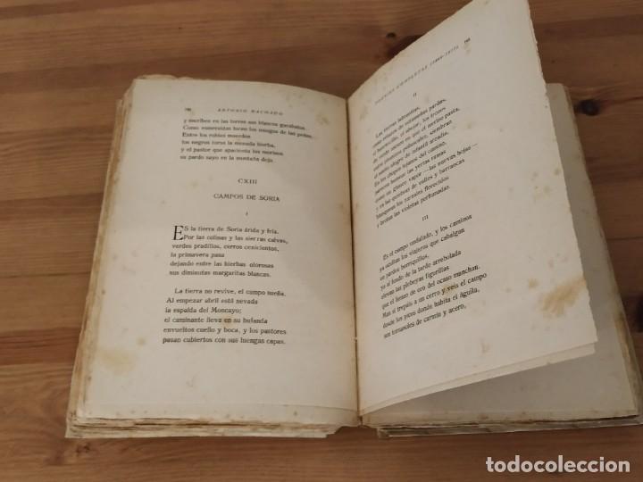 Libros de segunda mano: ANTONIO MACHADO POESÍAS COMPLETAS RESIDENCIA DE ESTUDIANTES MADRID 1917. - Foto 5 - 203552897