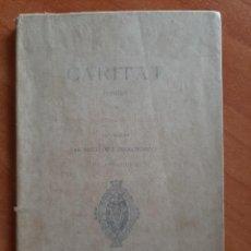 Libros de segunda mano: 1893 CARITAT - POESÍES- JACINTO VERDAGUER. Lote 204178370
