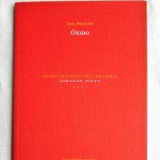 Libros de segunda mano: ÓXIDO – INMA PELEGRÍN. Lote 204264683